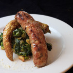 Escarole Greens with Sausage